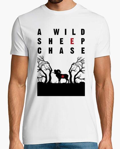 Camiseta A wild sheep chase