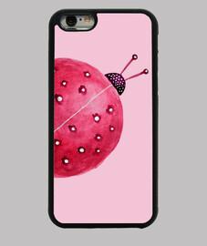 abbastanza astratta ladybug dell'acquerello