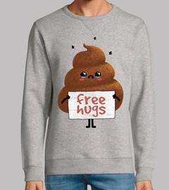 abbracci gratis cacca