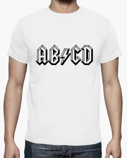 Camiseta ABCD Embossed