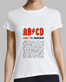 ABCD School Rocks! - Blanca
