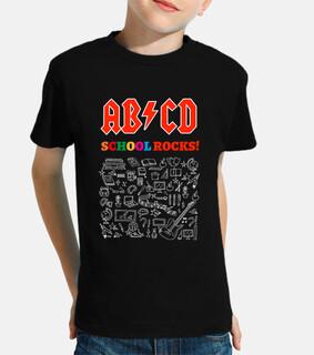 ABCD School Rocks! Black