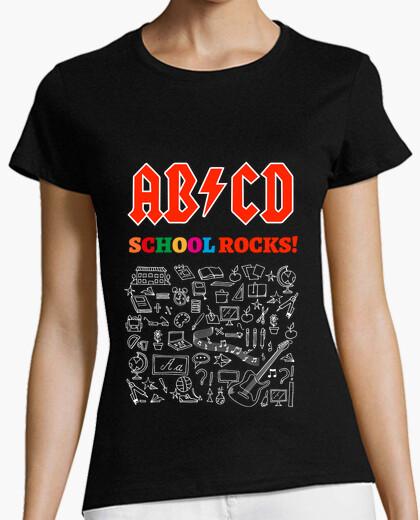 Camiseta ABCD School Rocks! Black
