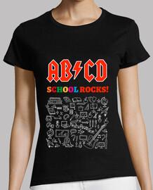 ABCD School Rocks! Noir