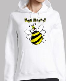 abeille heureuse!