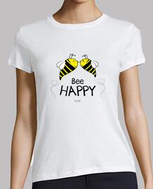 abeille heureuse