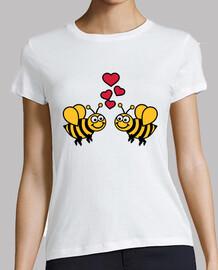 abeilles aiment coeurs