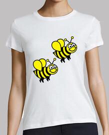 abeilles heureux