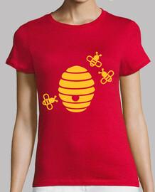 abeilles nid d'abeille