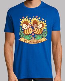 abeja compasiva - camisa de hombre
