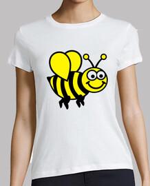 abeja divertida