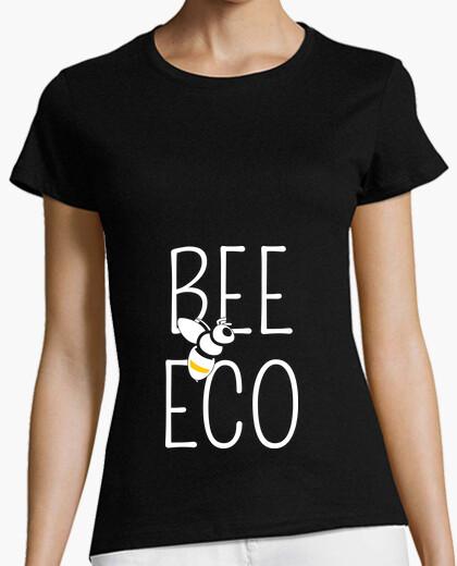 Camiseta abeja eco - ecología - naturaleza - abe