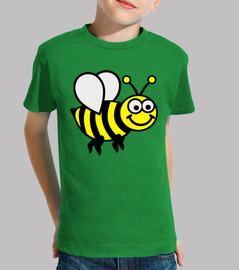 abeja feliz