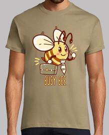 abeja ocupada - abeja ocupada - camisa de hombre