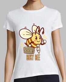 abeja ocupada - abeja ocupada - camisa de mujer