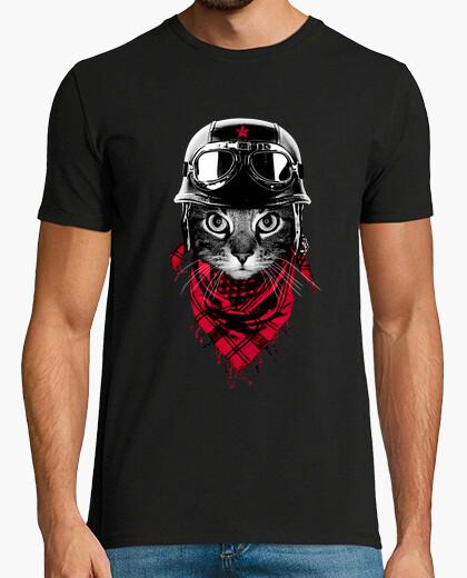 T-Shirt Abenteurer Katze