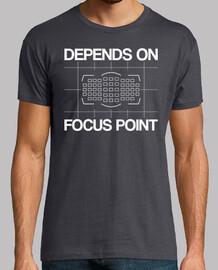 abhängig von fokuspunkt