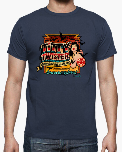 Camiseta Abierto Hasta el Amanecer: Titty Twister (Color)