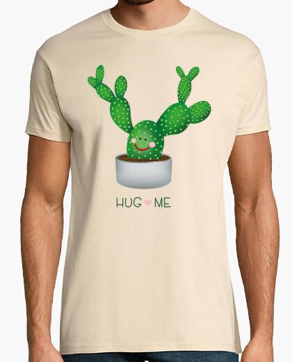 Camiseta abrazame cactus