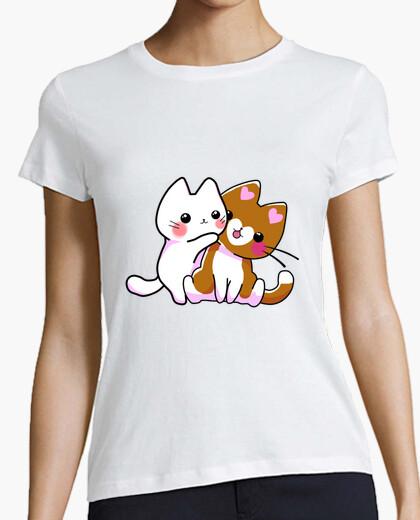 Camiseta Abrazo de Gatitos
