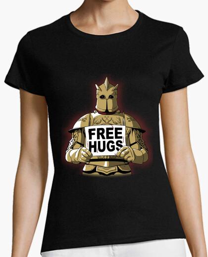 Camiseta abrazos gratis por la montaña