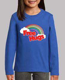 abrazos gratis retro arcoiris