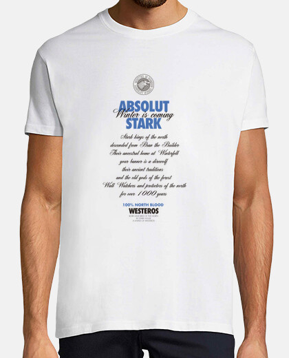 absolut stark - t-shirts man