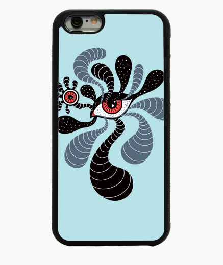 Abstract Surreal Double Red Eye iphone 6 /...