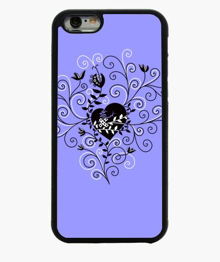 Funda iPhone 6 / 6S abstracto caprichoso fijo corazón roto