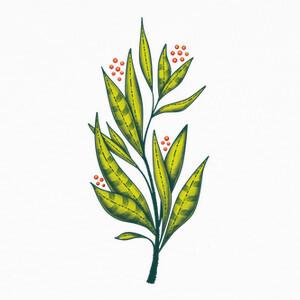 abstracto verde planta amante de la nat T-shirts