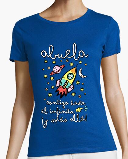 Camiseta Abuela contigo hasta el infinito ¡y más allá!