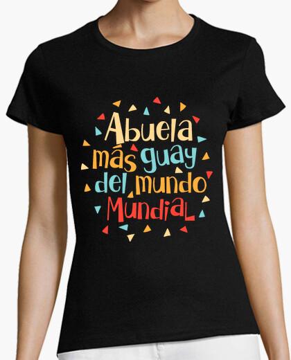 Camiseta Abuela más guay del mundo mundial