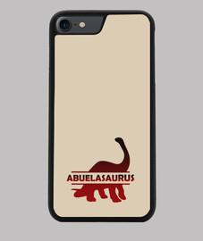 Abuelasaurus funda móvil iphone 7 o 8 para abuela dinosaurio
