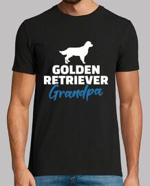 abuelo golden retriever