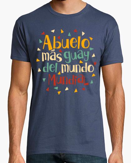 Camiseta Abuelo más guay del mundo mundial