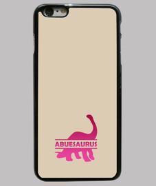 Abuesaurus funda iphone 6 o 6s plus para abuela dinosaurio