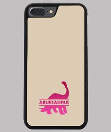 Abuesaurus funda iphone 7 o 8 plus para abuela dinosaurio