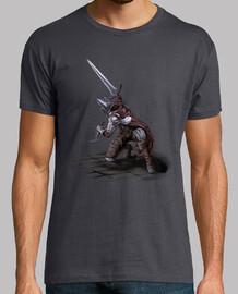 Abyss Watcher - Camiseta manga corta, gris oscuro, hombre