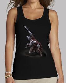 Abyss Watcher - Camiseta sin mangas, negro, mujer