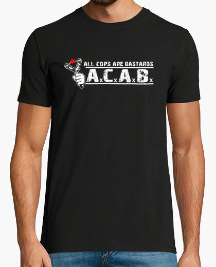 Camiseta ACAB Tirachinas Estrella Roja
