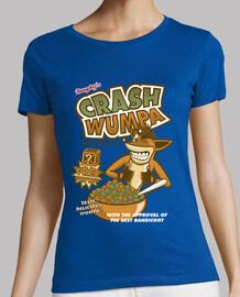 accident wumpa - shirt femme