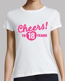 acclamations à 18 ans d'anniversaire