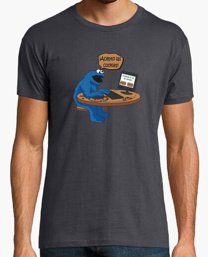 Camiseta ¡Acepto las cookies!