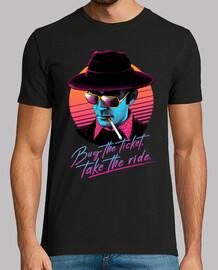 achetez le billet, prenez le tour! chemise homme