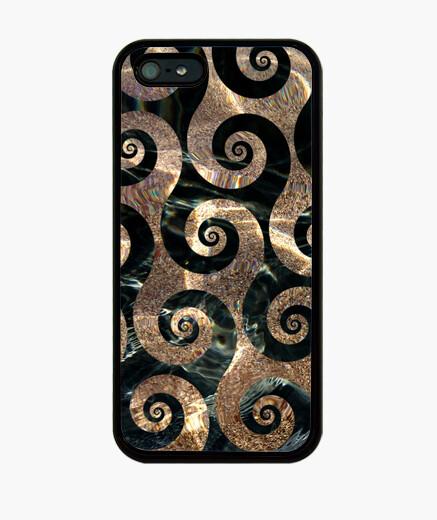 Cover iPhone acqua di mare e sabbia dorata