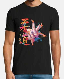 acquerello di judo