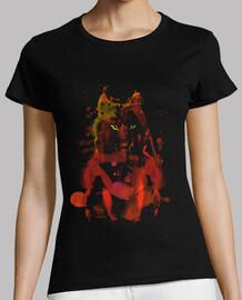 acuarela foxy -red