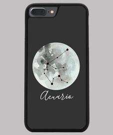 Acuario horóscopo funda de móvil