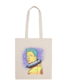 ad astra nauta - 100x100 cotton cloth bag