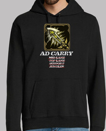 AD CARRY marco sudadera